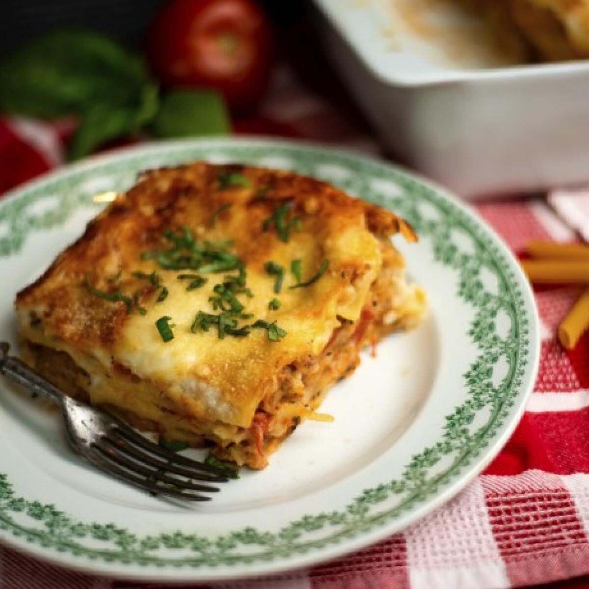 Ezen a képen: Gluténmentes lasagne