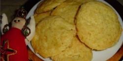 Kókuszos keksz  - gluténmentes