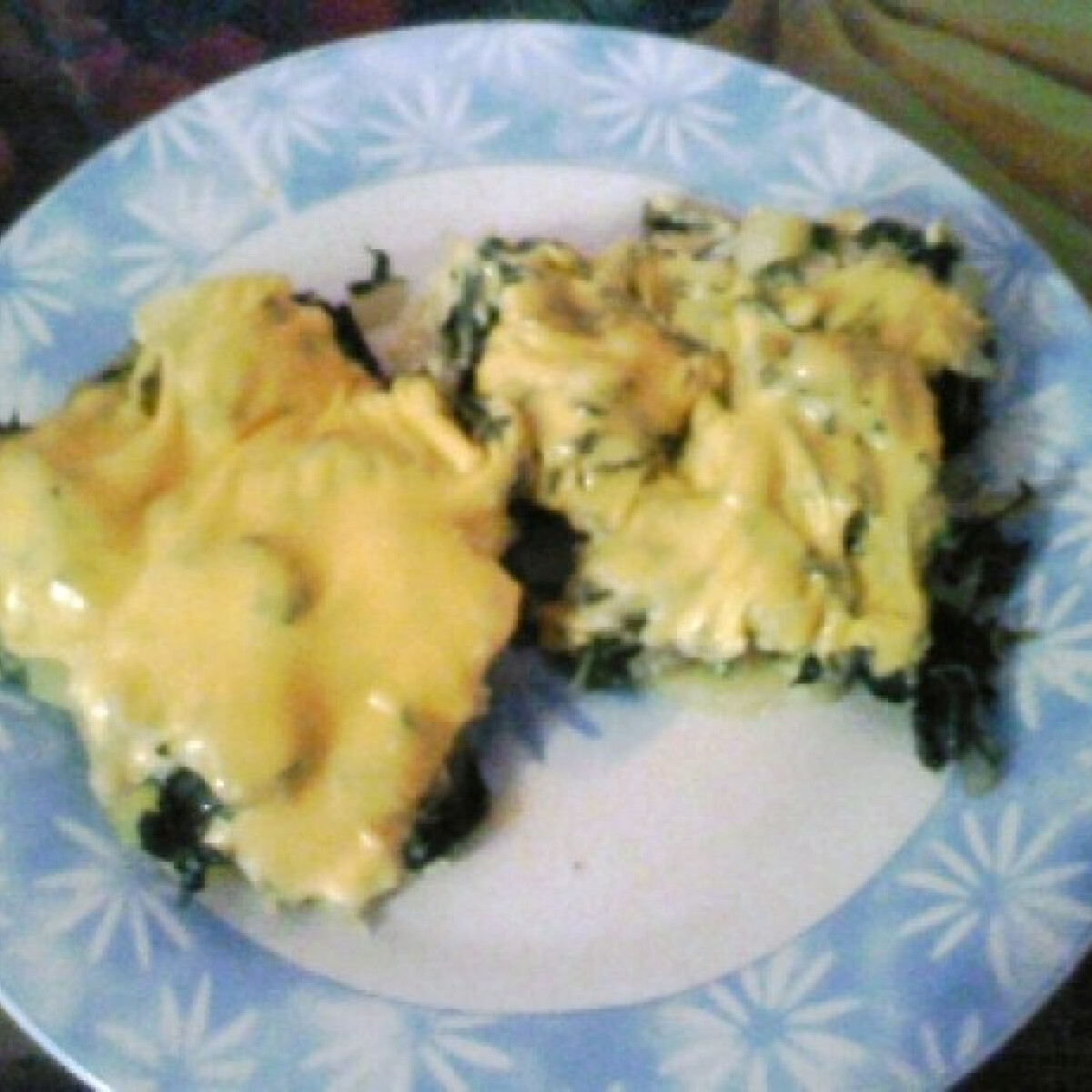 Mángoldos krumpli sajttal
