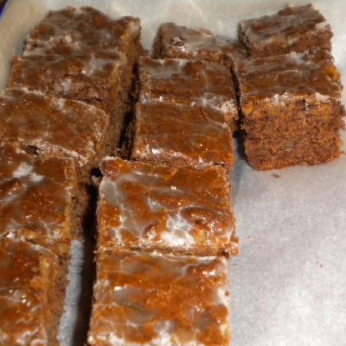 Ezen a képen: Csokoládés-fűszeres mézes
