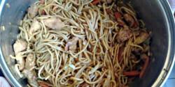 Ázsiai pirított tészta