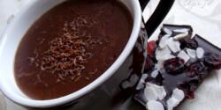 Krémes forró csokoládé
