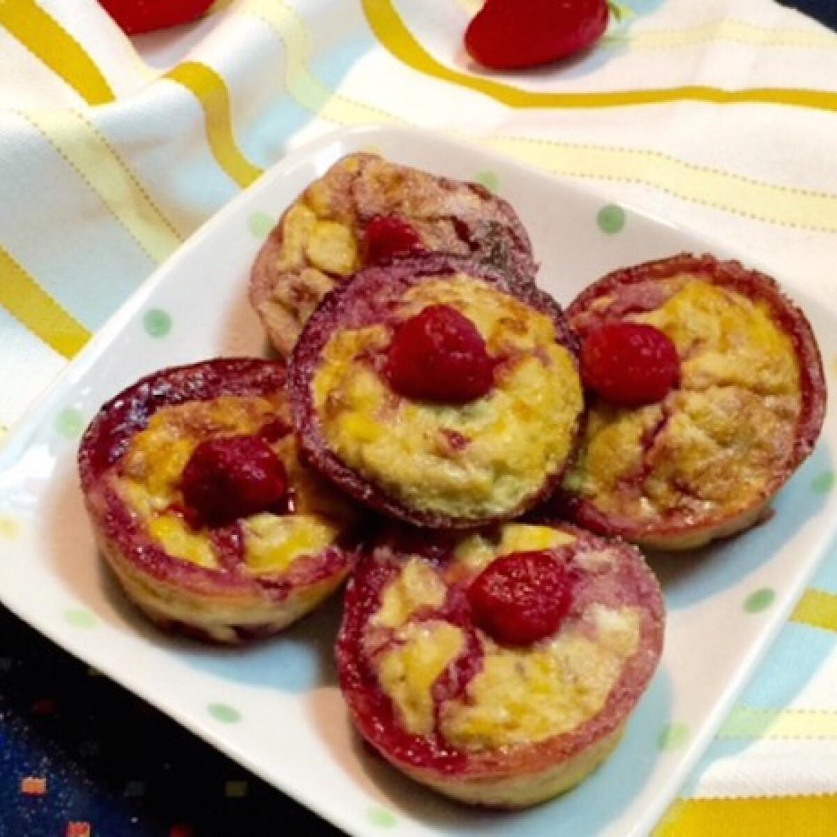 Ezen a képen: Diétás reform muffin 3 alapanyagból