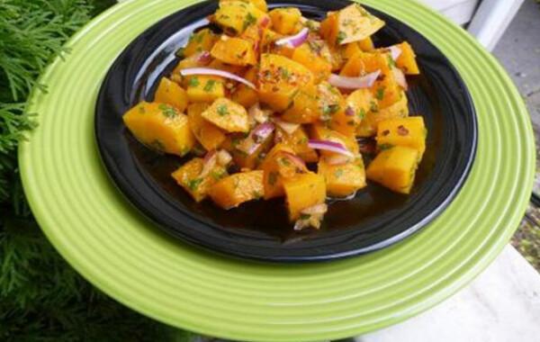 Sütőtök saláta witch konyhájából