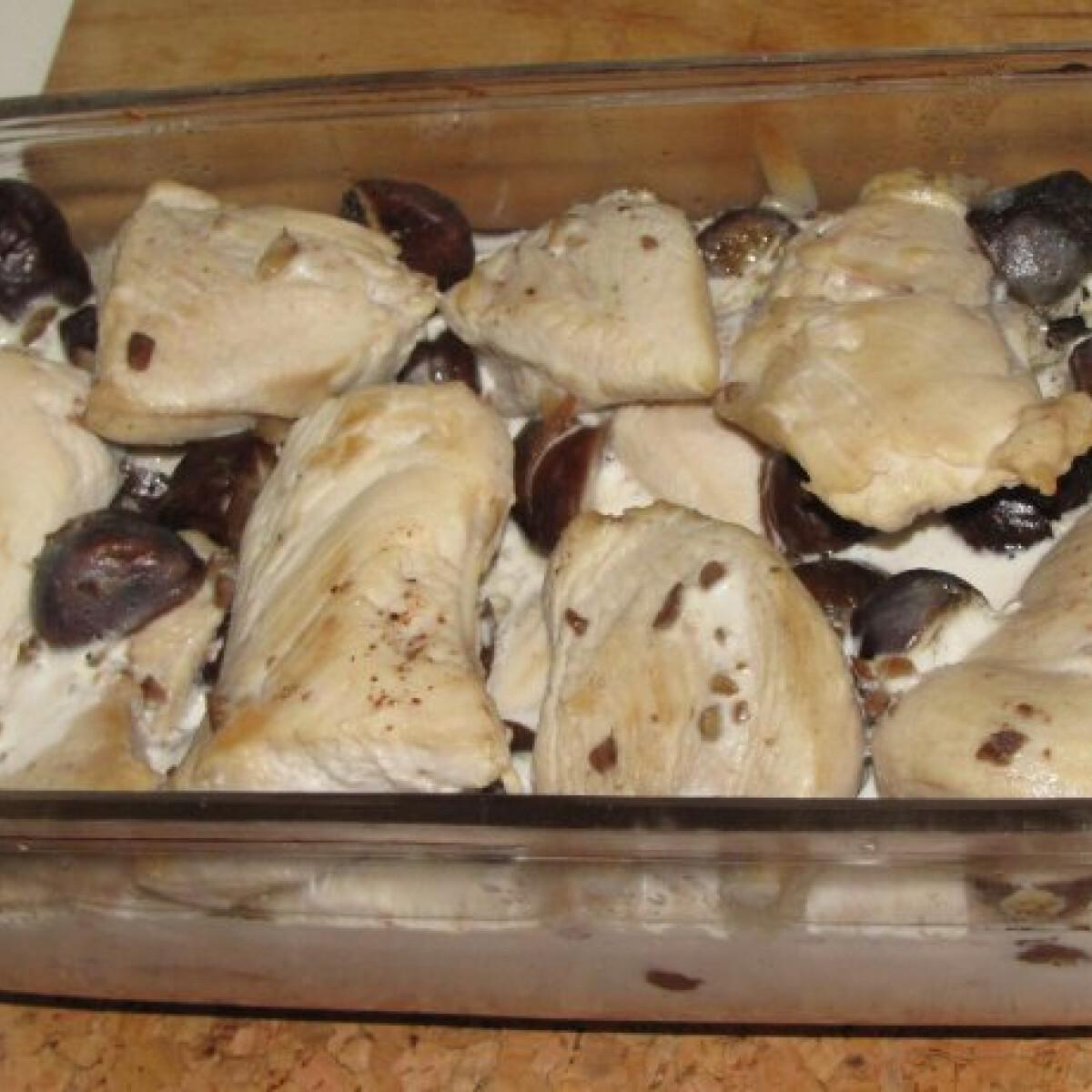 Gesztenyés csirke Schelek konyhájából