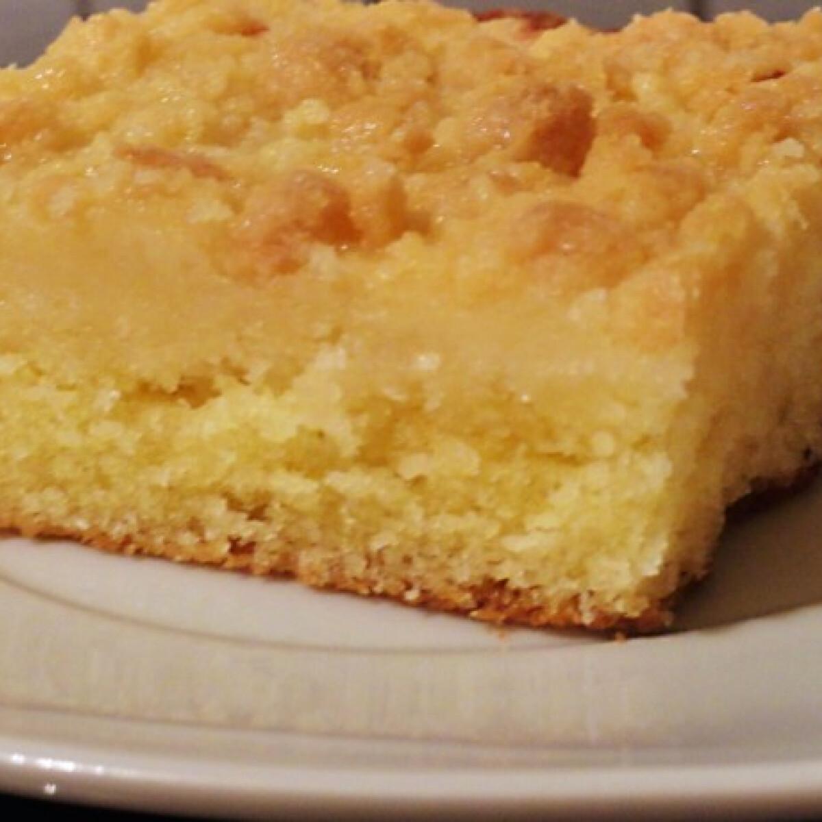 Türingiai morzsás sütemény