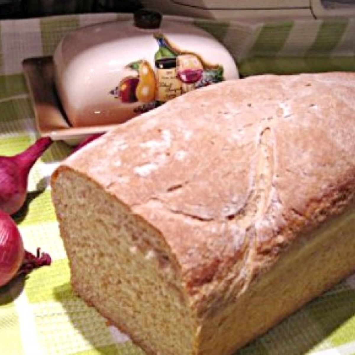 Ezen a képen: Joghurtos graham kenyér Katharosztól