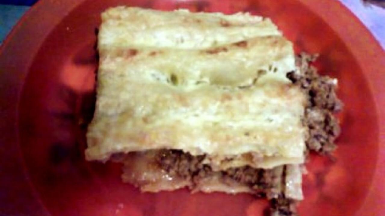 Darált hússal töltött cannelloni