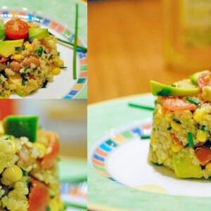 Mexikói quinoa saláta