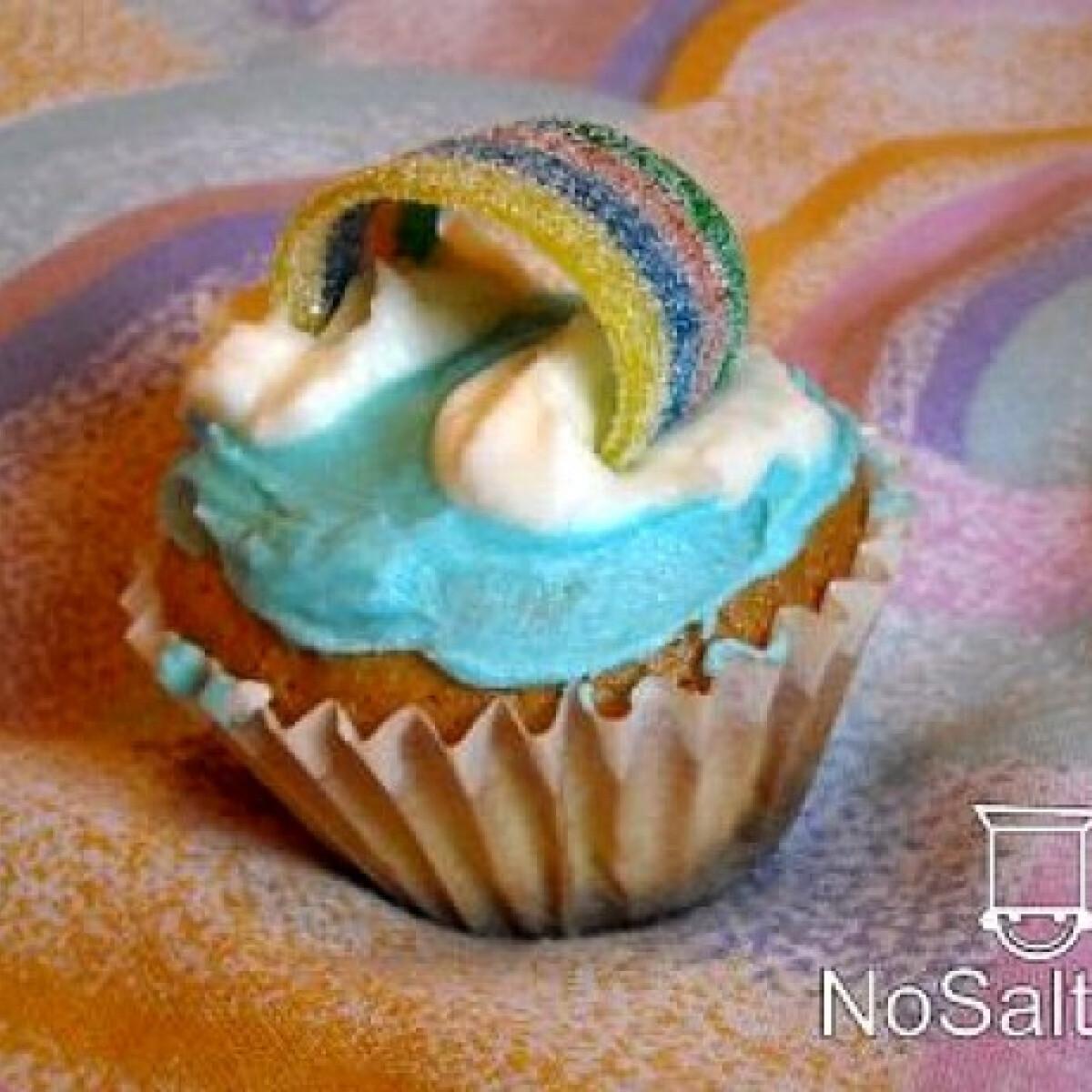 Ezen a képen: Szivárvány muffin