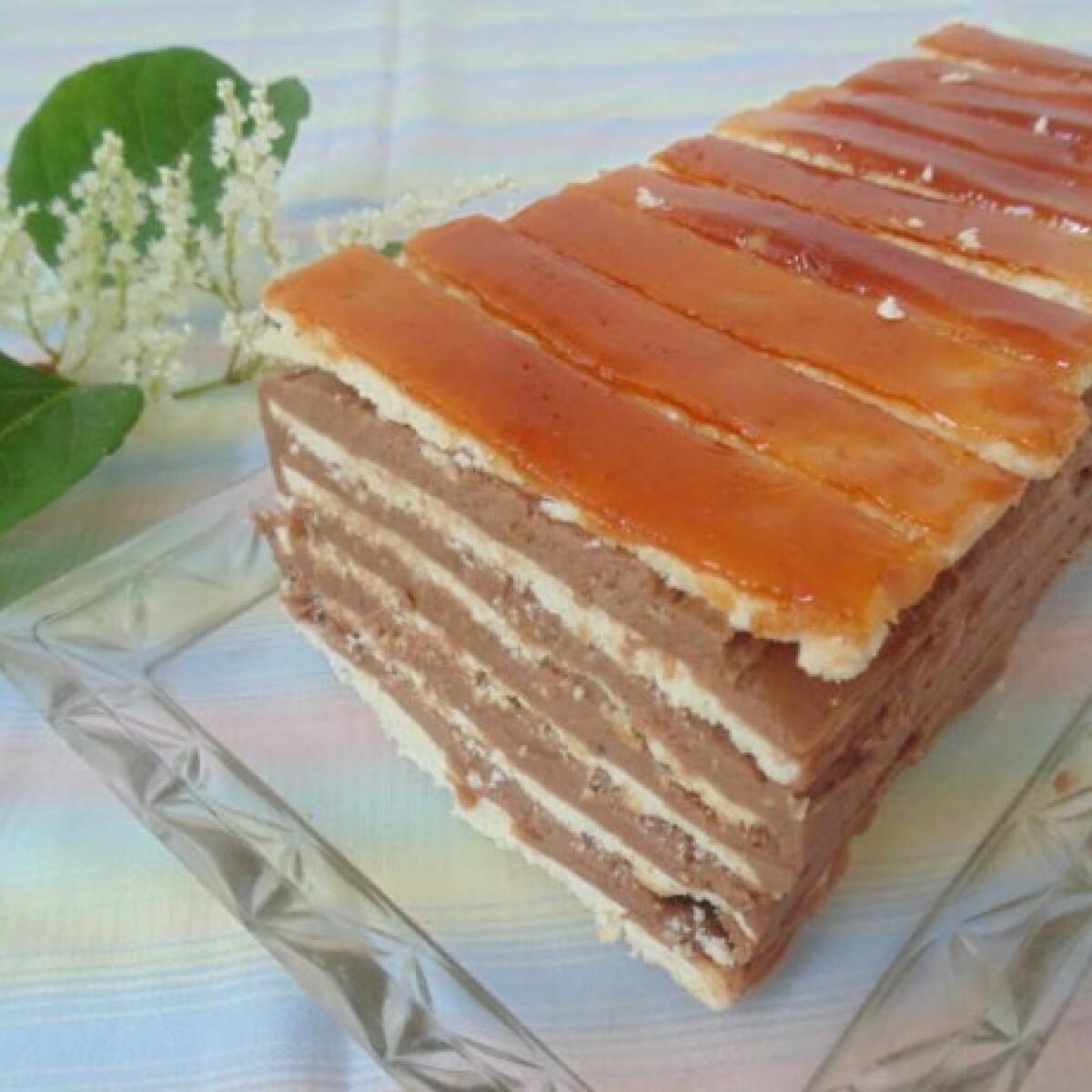 Ezen a képen: Dobos-torta Lizinka konyhájából