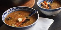 Kínai csípős-savanyú leves
