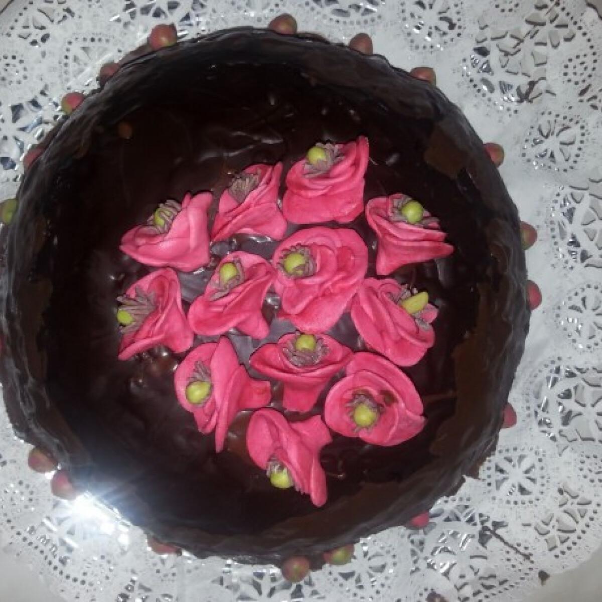 Málnás-túrós torta