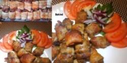 Baconbe tekert csirkemáj 3.