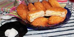 Lángosfánk sajttal töltve