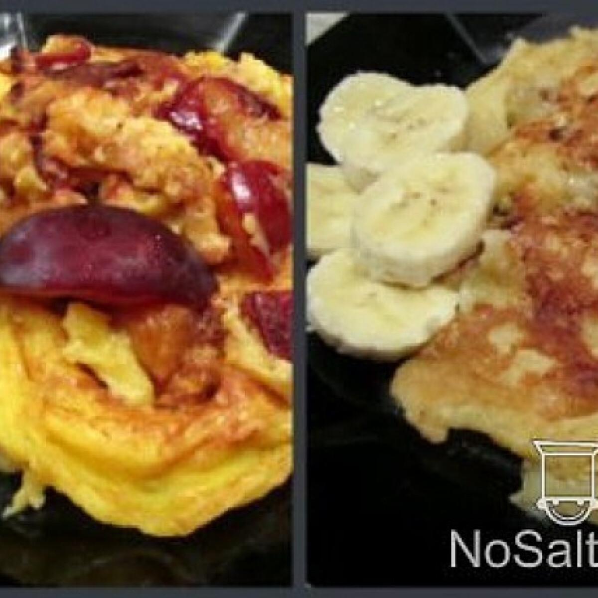 Serpenyős clafoutis - gyümölcsös omlett