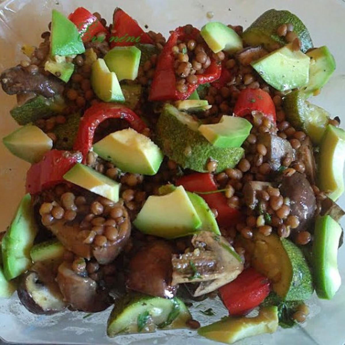 Sültzöldség-saláta