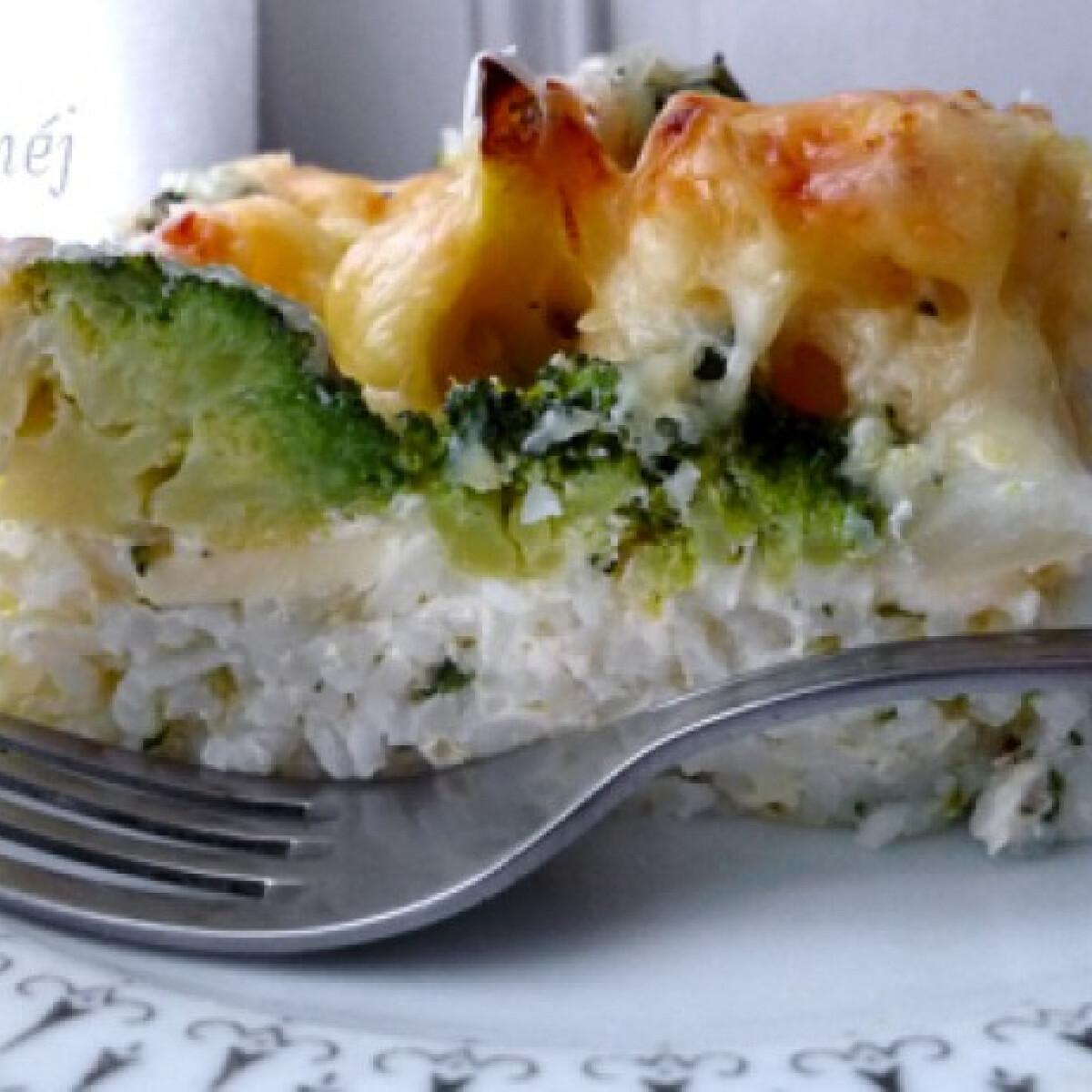 Sajtos brokkolis-karfiolos rakottas