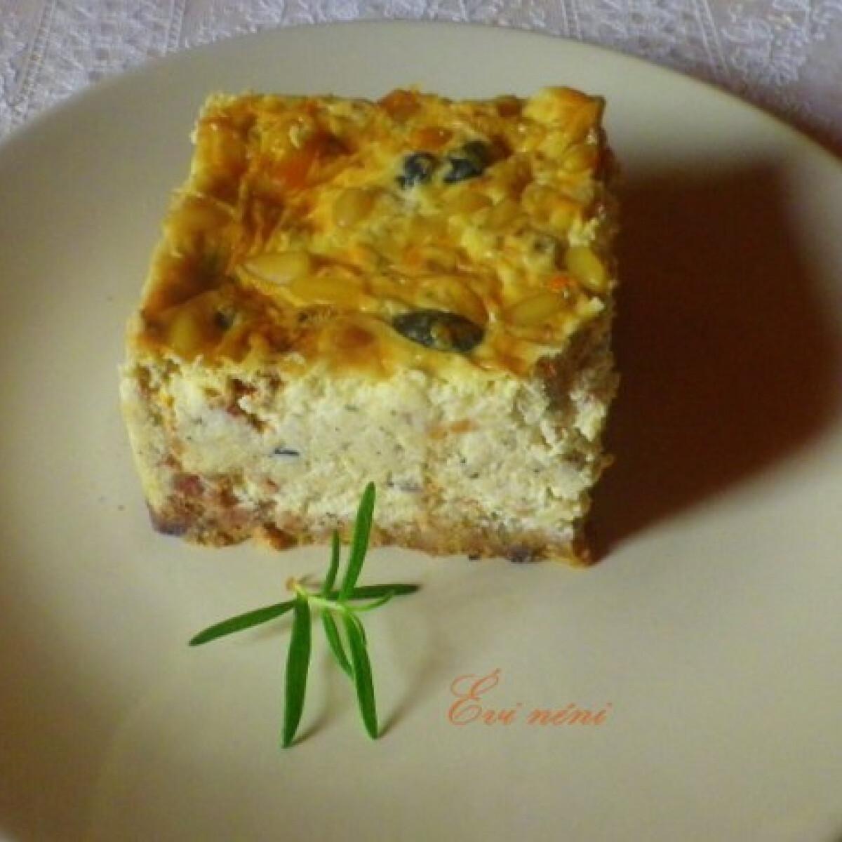 Olasz sajttorta Évi néni konyhájából