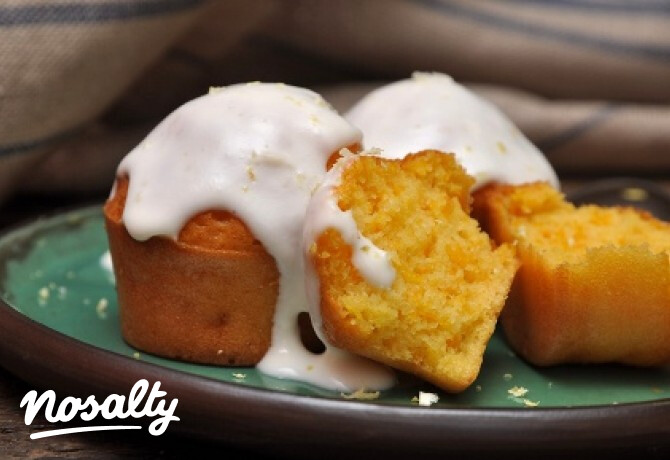 Ezen a képen: Sütőtökös muffin citromos tejföllel