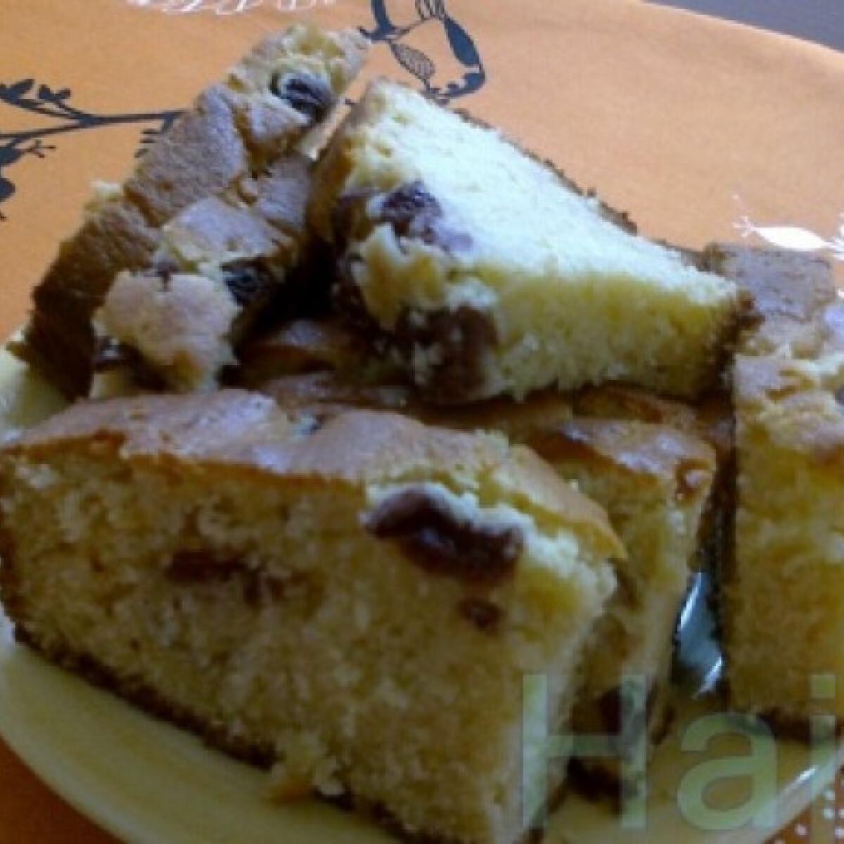 Aszalt szilvás süti