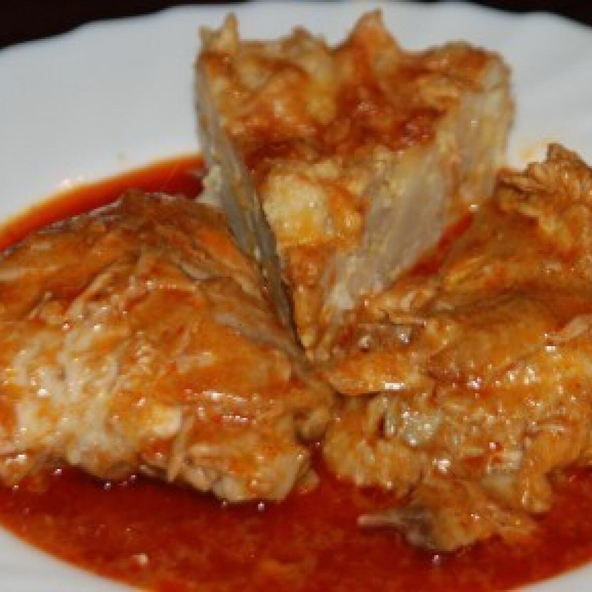 Ezen a képen: Paprikás csirke 8. - tojásos galuskával