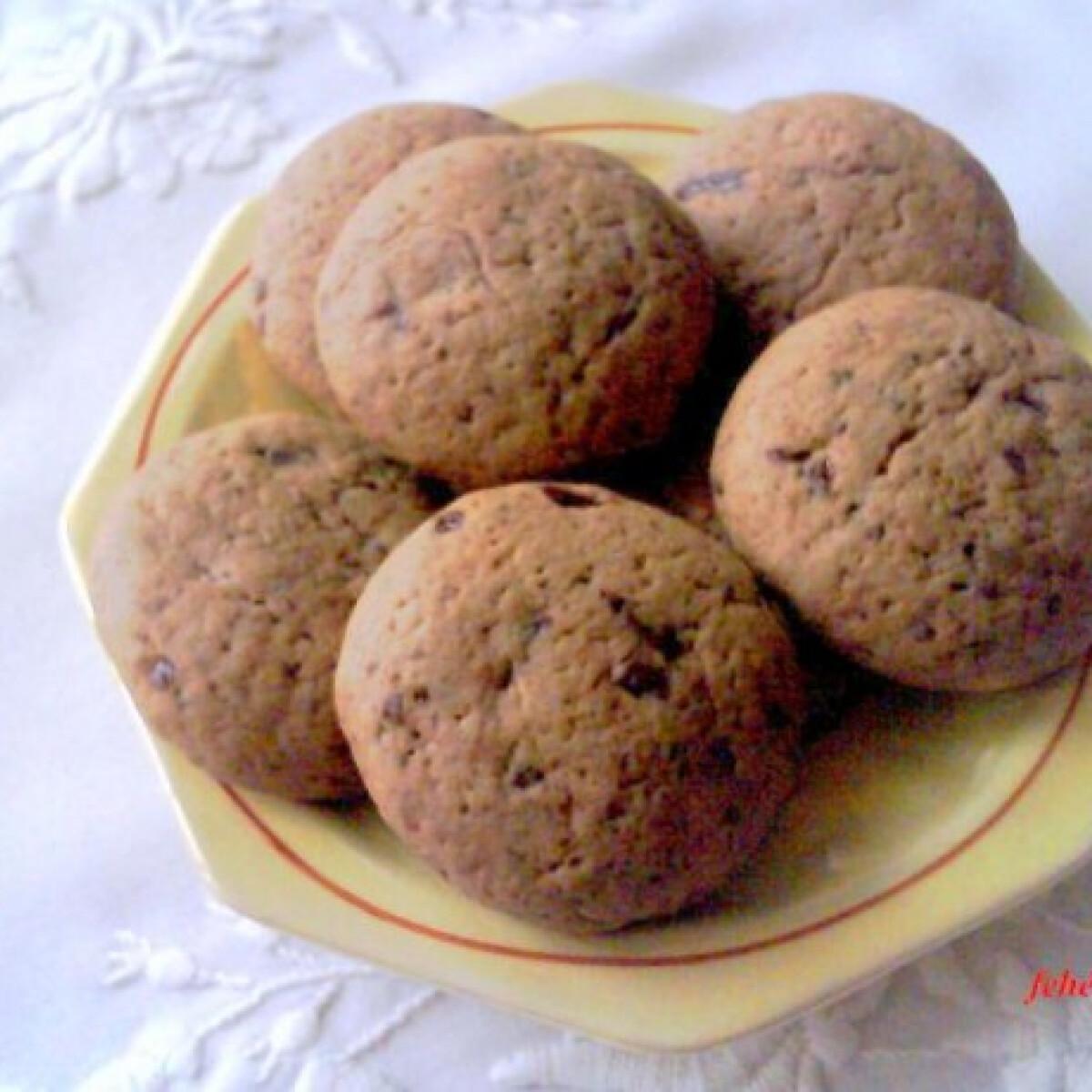 Ezen a képen: Karamellpudingos csokoládés keksz
