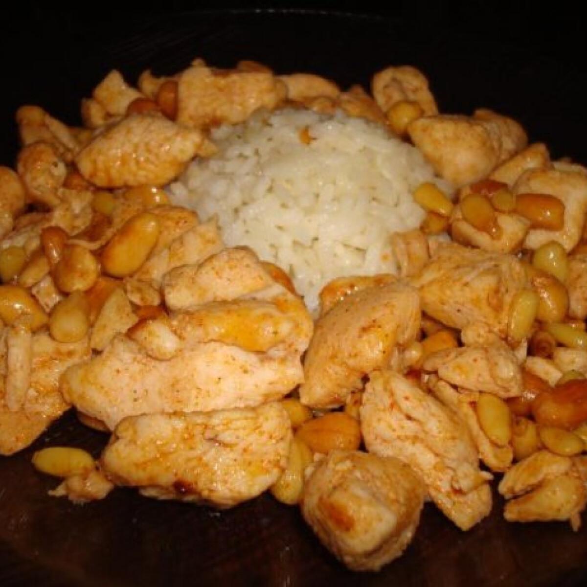 Ezen a képen: Orient magvas sült csirke