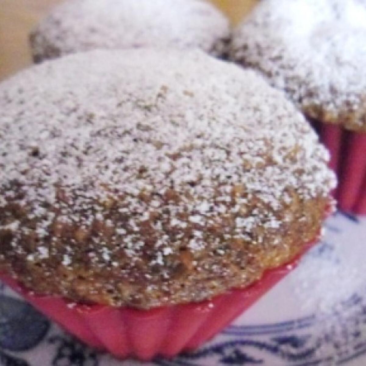 Almás-diós muffin helena konyhájából