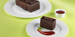 Málnalekváros csokoládétorta