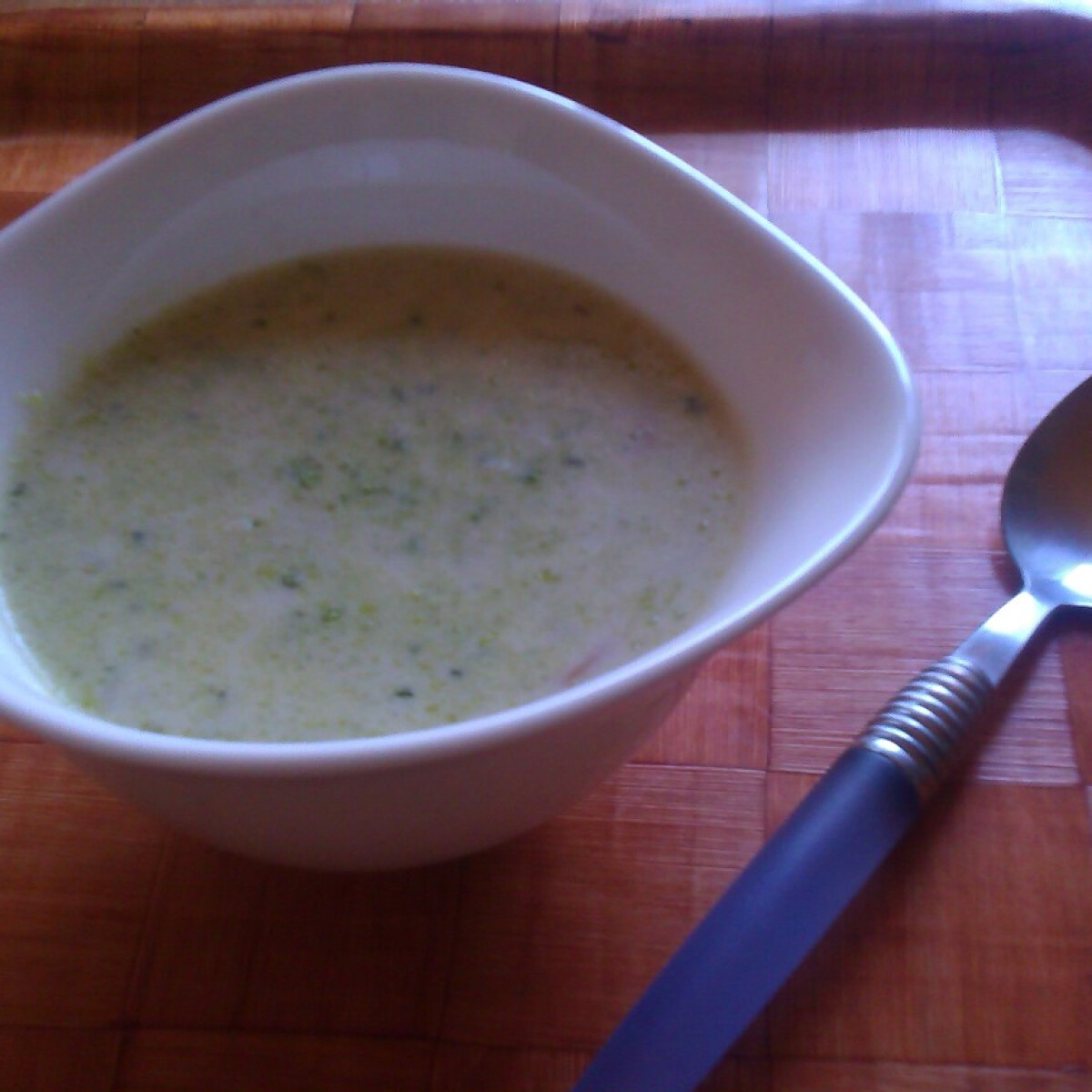 Ezen a képen: Zöldségleves tejszínnel ReAnett konyhájából