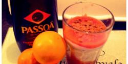 Vérnarancsos mascarpone desszert