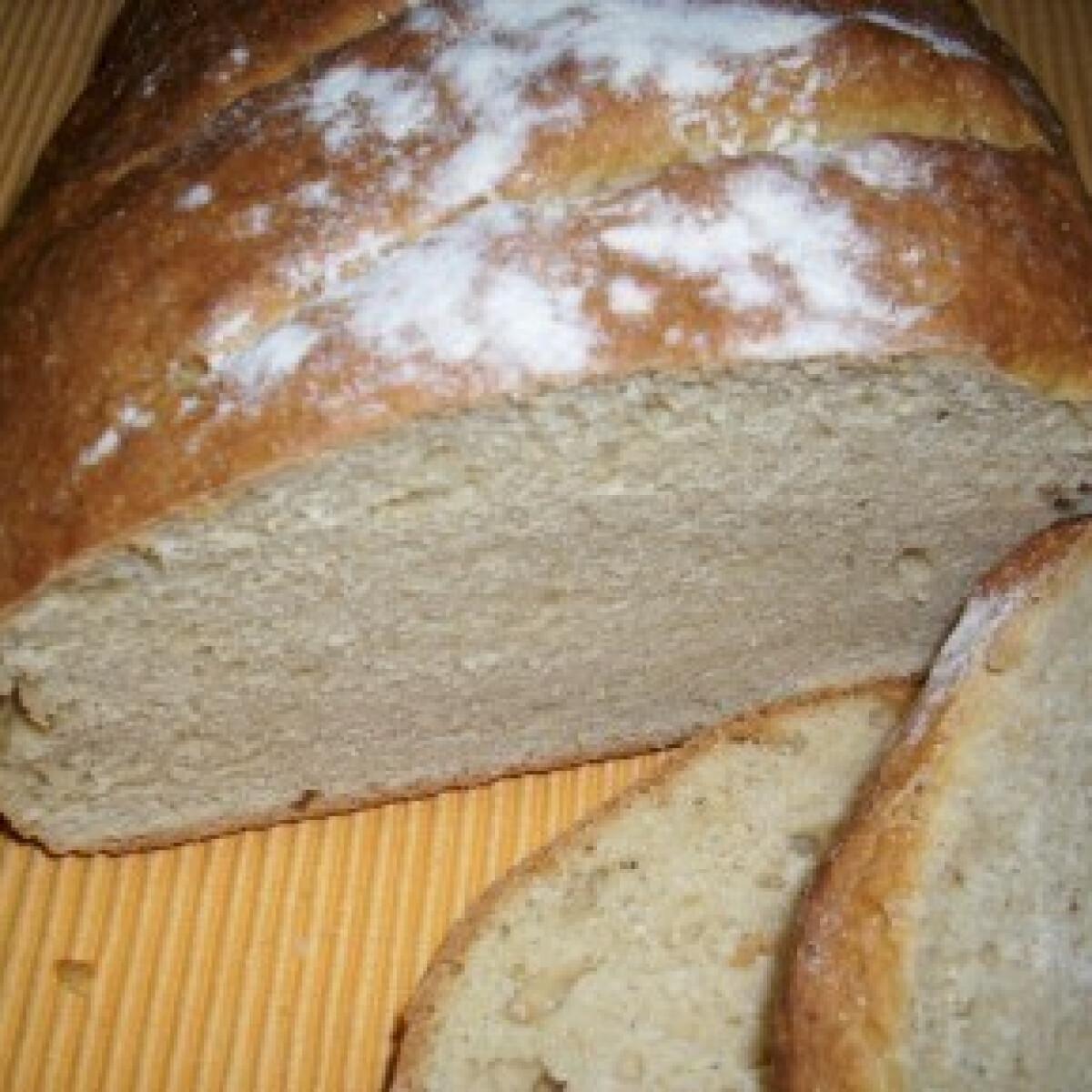 Ezen a képen: Sütőporos kenyér