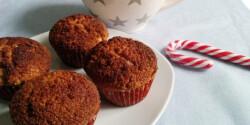 Muffin karácsony reggelre