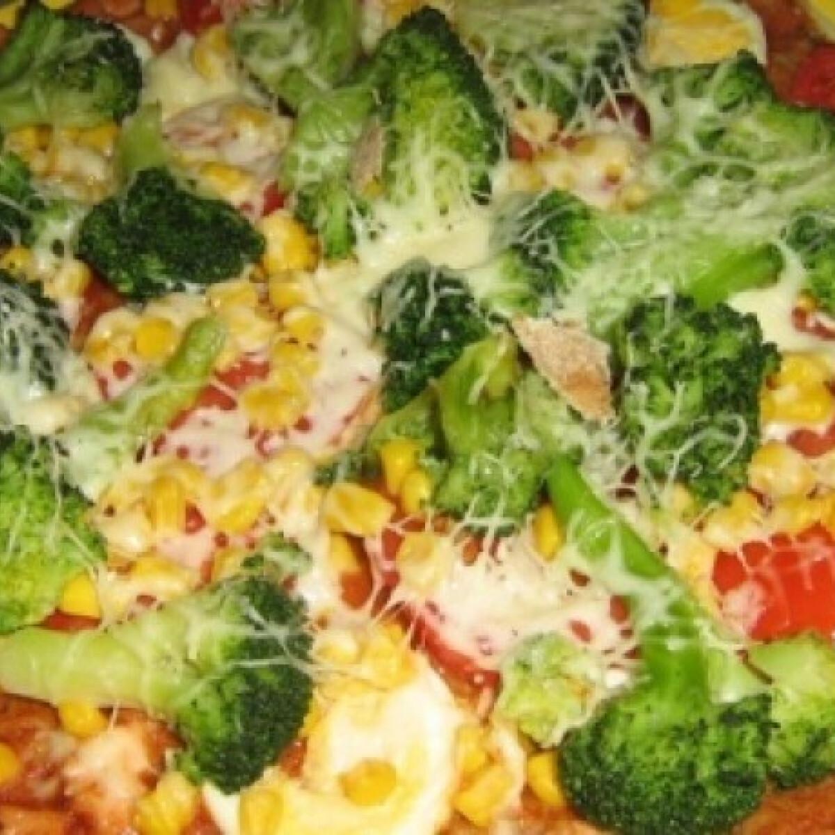 Ezen a képen: Pizzatészta 4. -teljeskiőrlésű lisztből