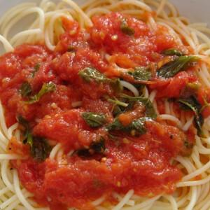 Paradicsomszósz (spagettihez)