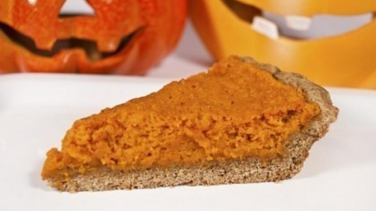 Sütőtökös pite Halloweenra