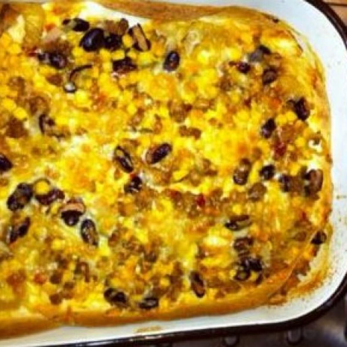 Ezen a képen: Mexikói lasagne Polett konyhájából