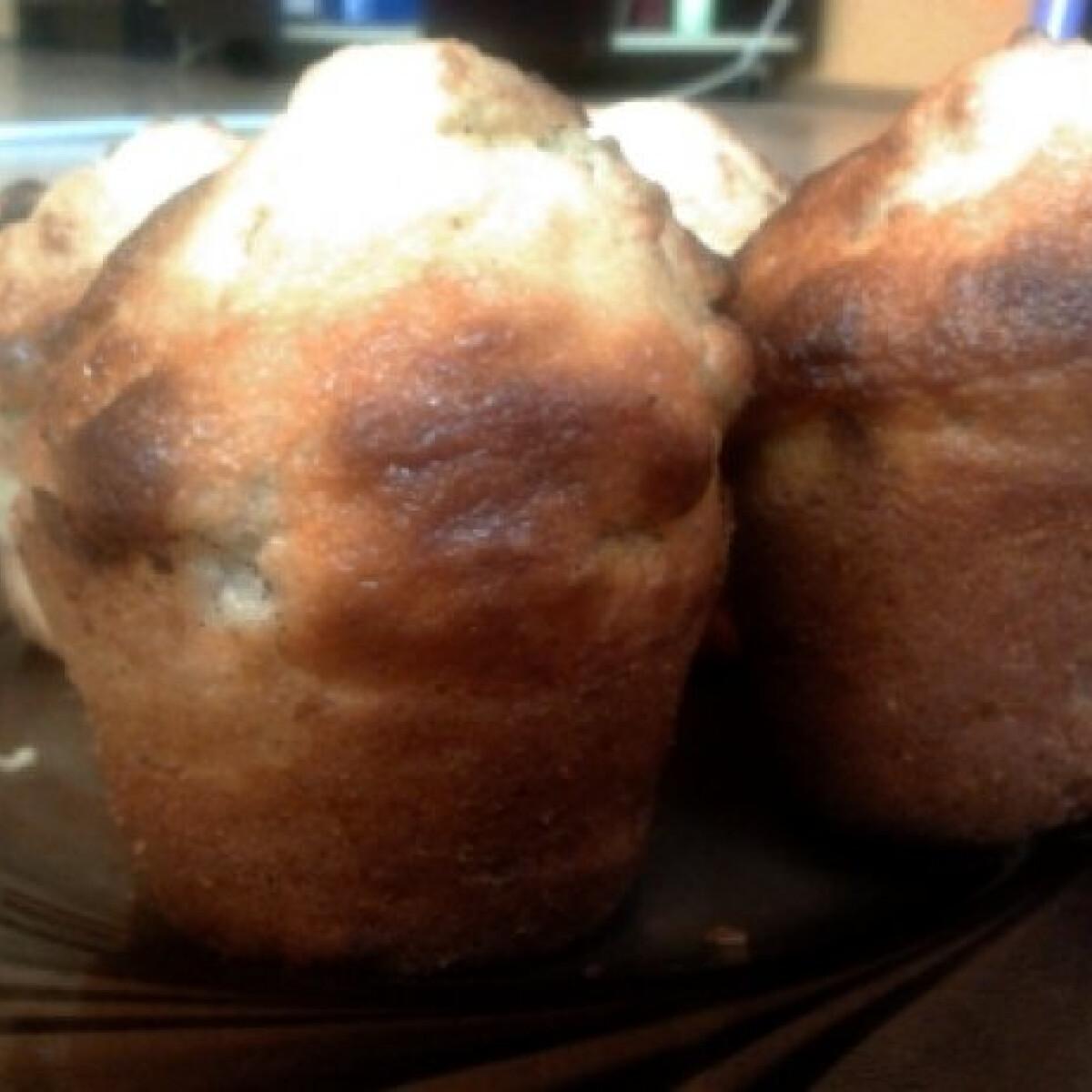 Banános-mogyorós muffin Henrietas módra