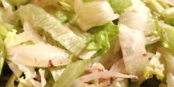 Egyszerű halas saláta