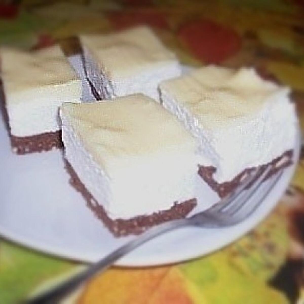 Habos-túrós kekszsüti