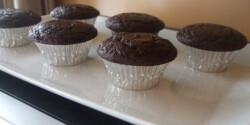 Kakaós-sütőtökös muffin