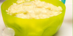 Bababarát tejszínes cukkini