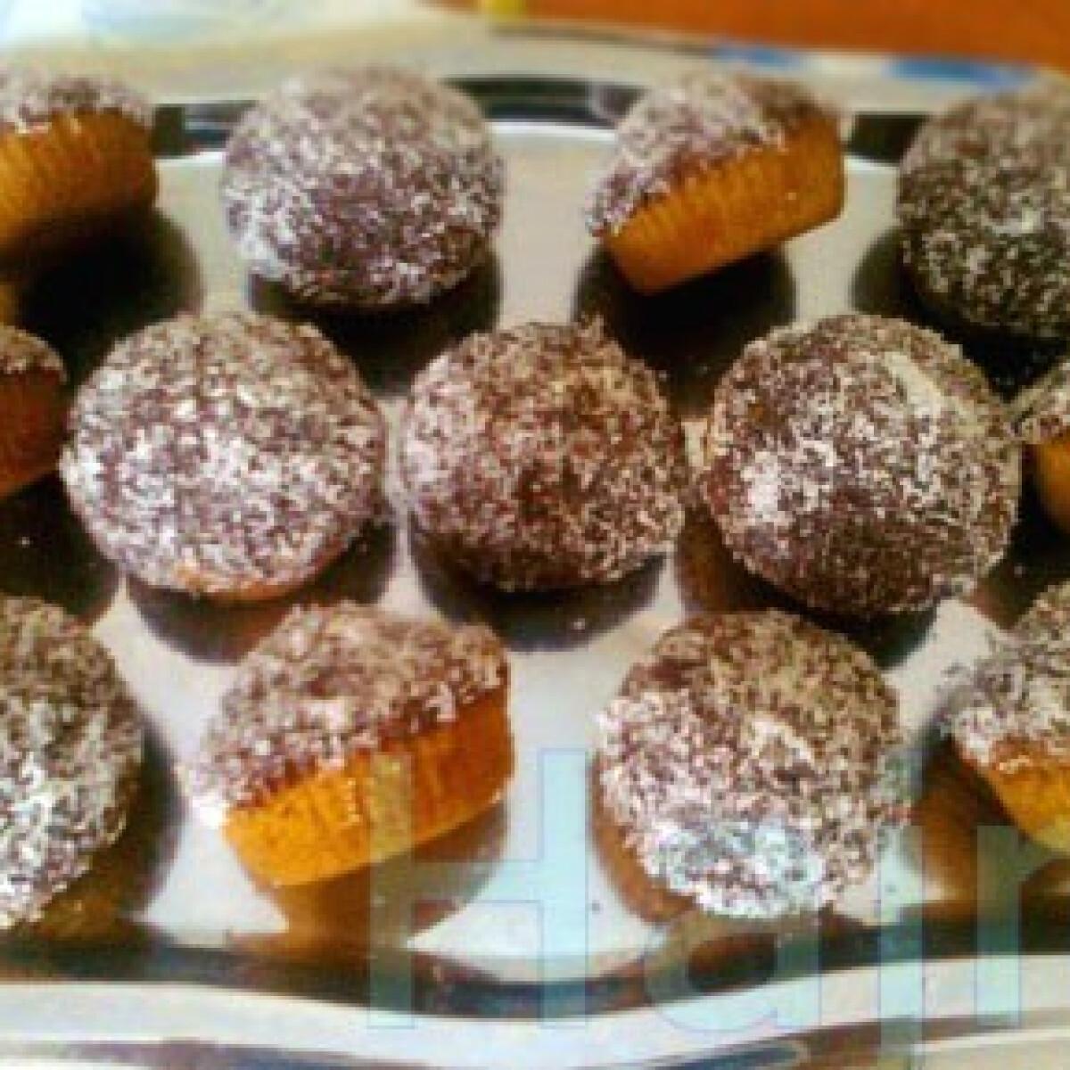 Csokikókusz muffin