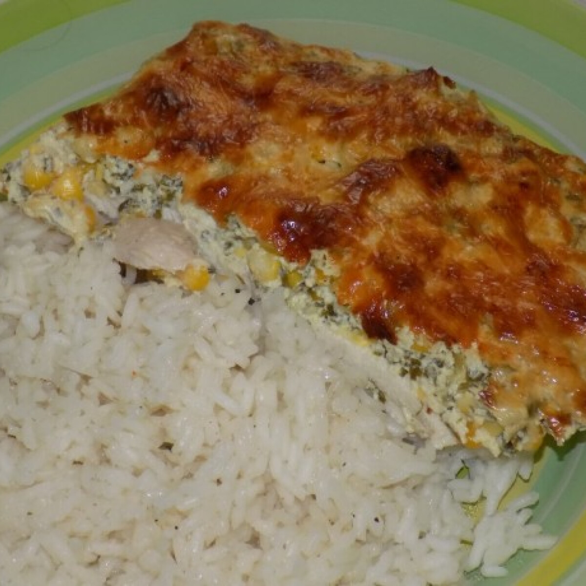 Ezen a képen: Kukoricás csirkemell casserole