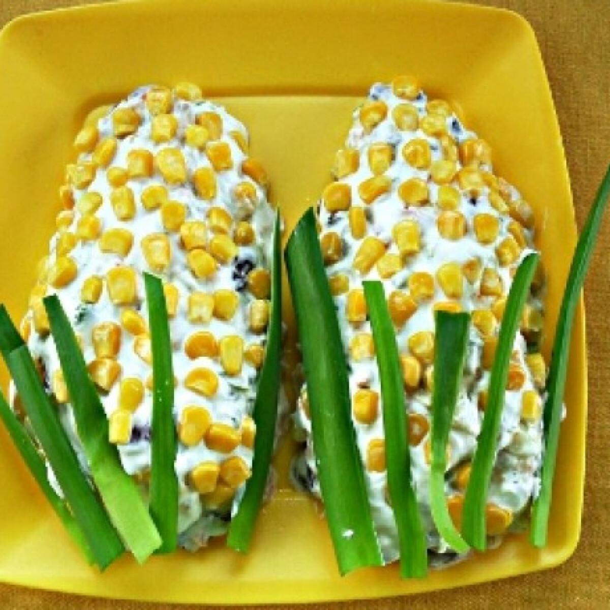 Ezen a képen: Sonkás kukoricasaláta
