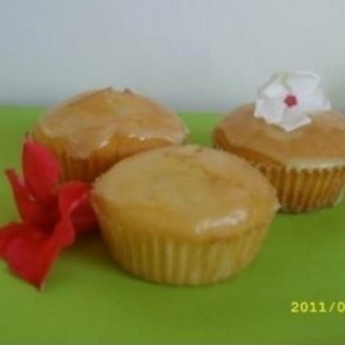 Ezen a képen: Pina Colada muffin