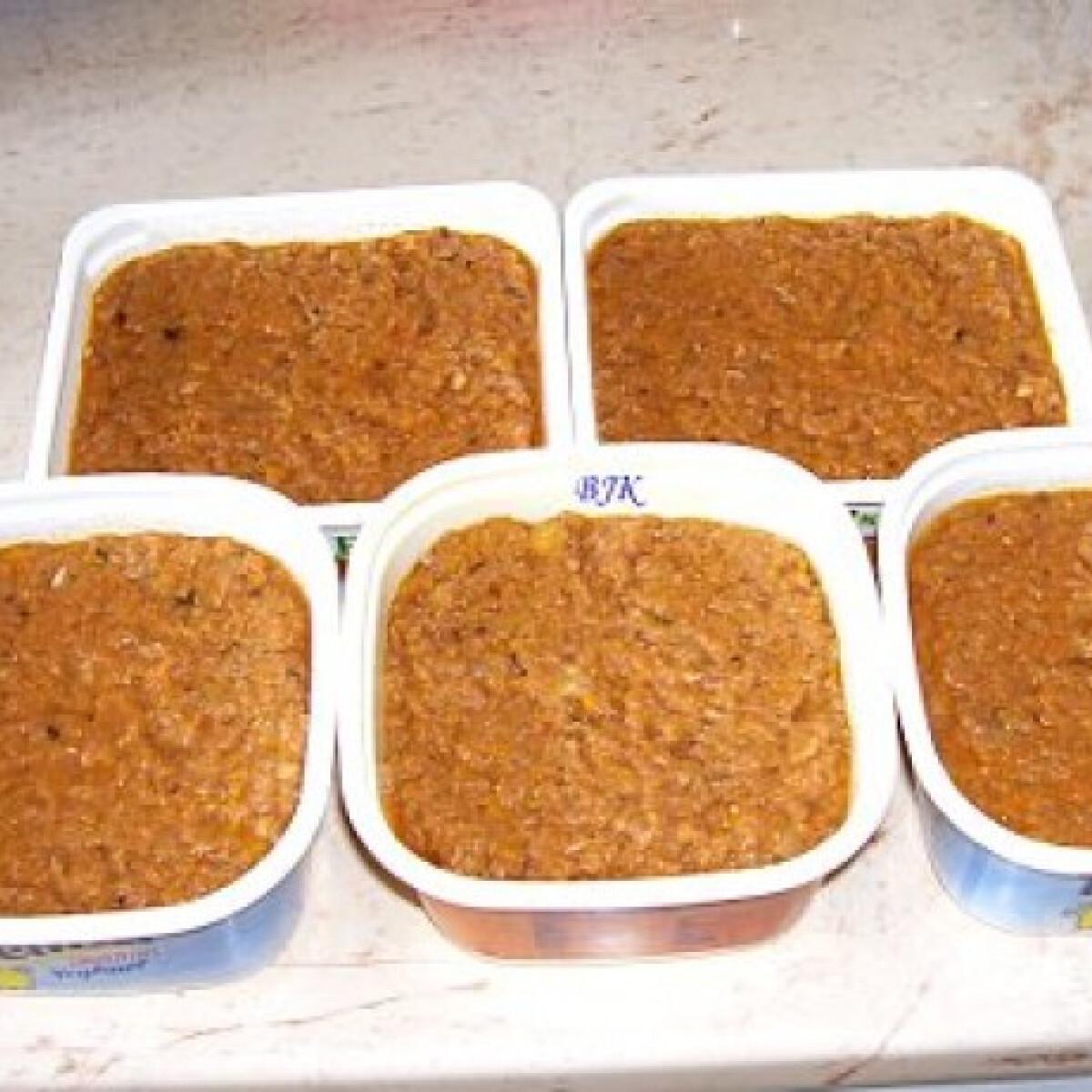 Ezen a képen: Lasagne és rakott zöldség töltelék főtt húsból