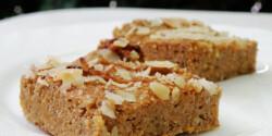 Paleo sütőtökös lepény