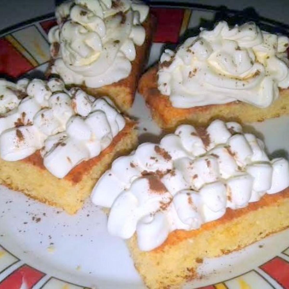 Szénhidrátcsökkentett vaníliás desszert